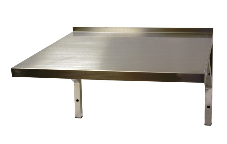 Stainless Steel Microwave Wall Shelf