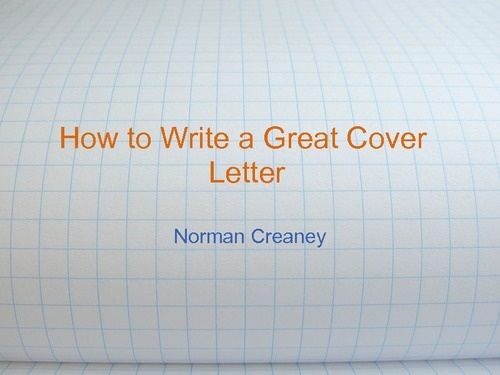 How to write a great dissertation