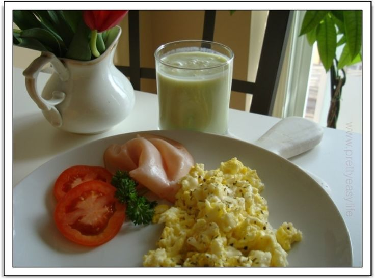 Creamy French style Scrambled eggs my way - healthy high protein