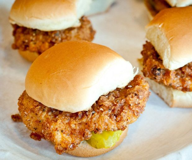 Chicken Filet Sliders | ' food