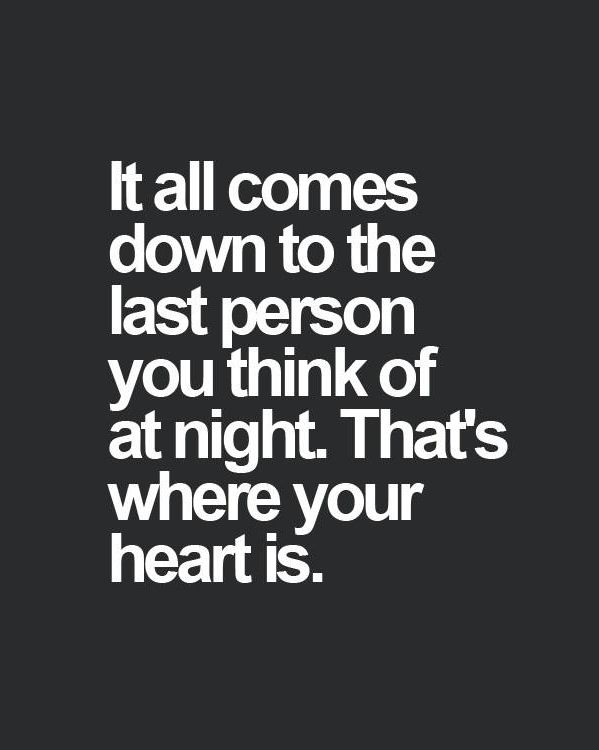 That s where your heart is
