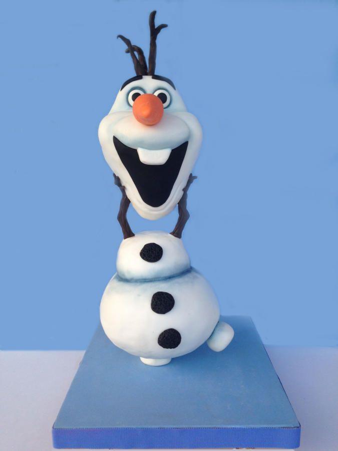 Cake Decoration Olaf : Olaf Cake Cakes & Cake Decorating ~ Daily Inspiration ...