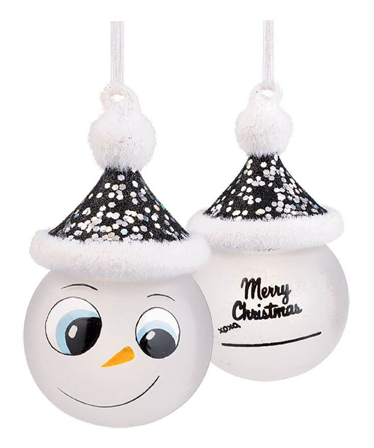 'Merry Christmas' Marker Snowman Ornament | Daily deals ...