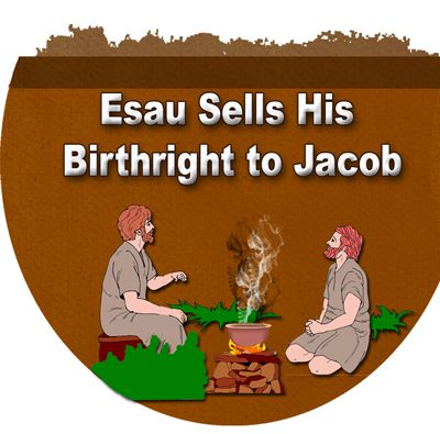 an analysis of the birthright of jacob and esau The birth of jacob and esau, this lesson gives several examples, both negative and positive, of waiting on god antioch bible lesson #016.