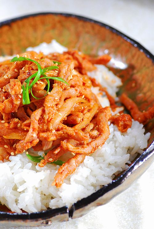 Pork Bulgogi | Pan-Asian Food | Pinterest