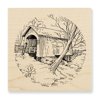 Winter/Christmas--Covered Bridge. With Winter Chapel, Bunnies, and maybe Snow Couple for a set? hmmm...