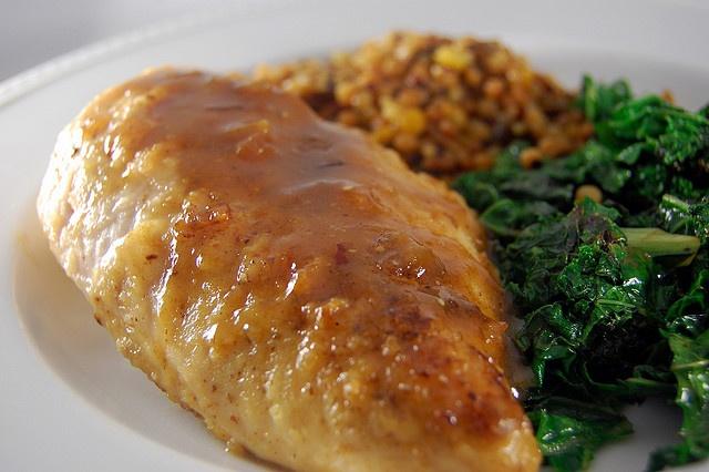 Cider-Glazed Chicken Thighs Recipe — Dishmaps