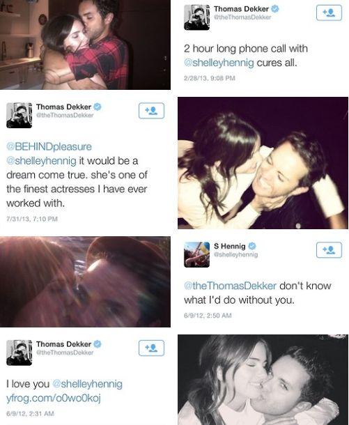 Thomas Dekker Shelley Hennig | Cute couples | Pinterest