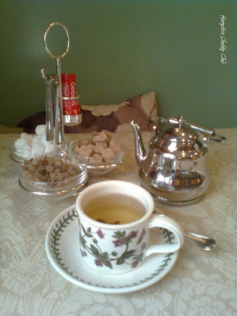 living in london tea: