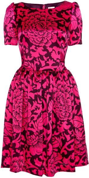 TEMPERLEY LONDON   Dianthus Dress