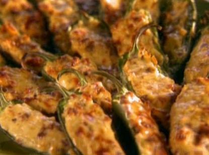 chorizo & cheddar stuffed jalapenos | Tasty | Pinterest