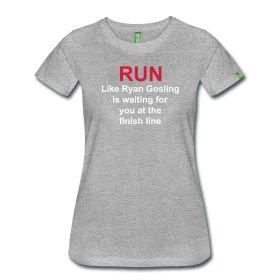 Ryan Gosling T-shirt run http://paradojashop.spreadshirt.es/ Ryangosling