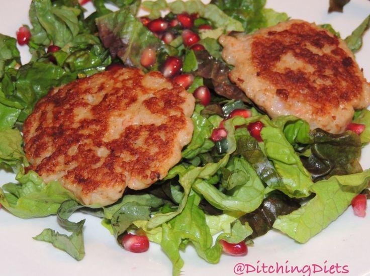 Crab, Apple & Pomegranate Salad Recipe — Dishmaps