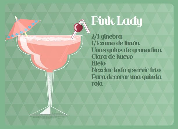 The Un-Pink Lady Cocktail Recipes — Dishmaps