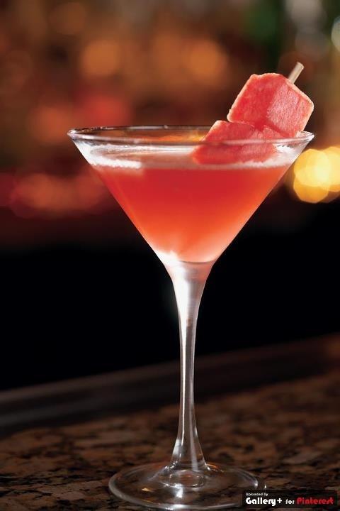 Watermelon Martini | Bartender... Another Round! | Pinterest