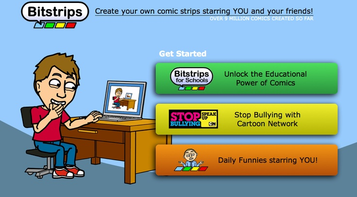 how to create your own comic strip