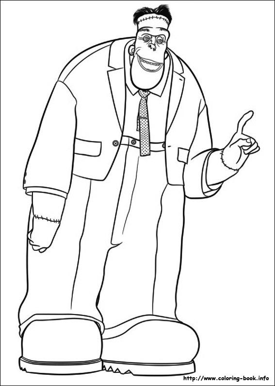 coloring pages of hotel - photo#26