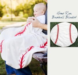 Baseball Baby Blanket - Special Baby Shower Gifts