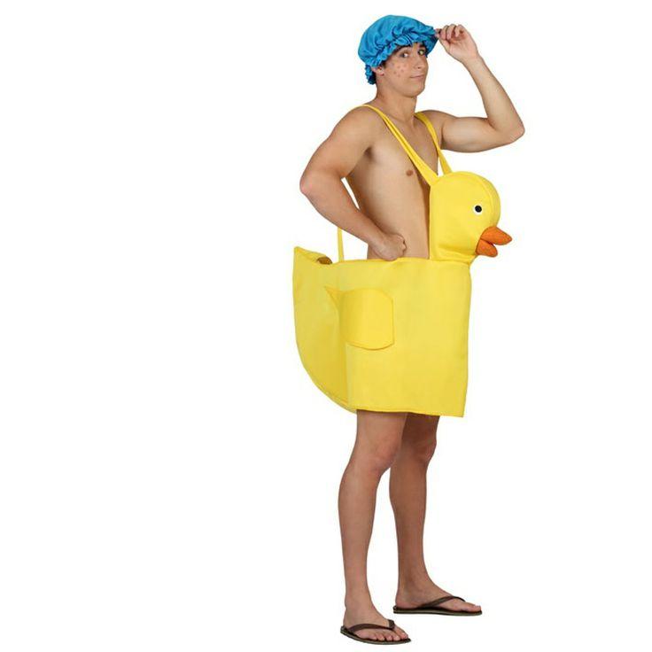 Hago Del Baño Muy Amarillo:Un disfraz muy divertido del característico juguete de baño amarillo