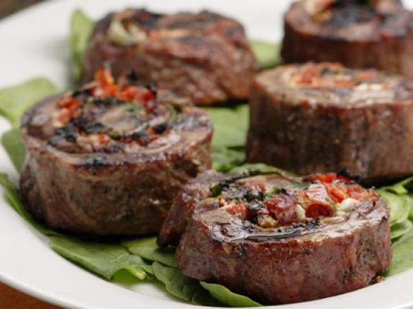 Flank Steak Pinwheels - actually can stuff with anything you want. I ...