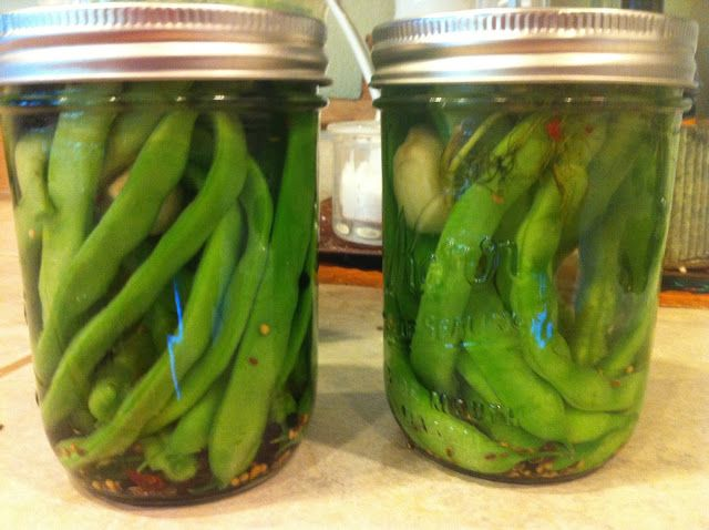 Pickled green beans for Bloody Marys | Vegging Out | Pinterest