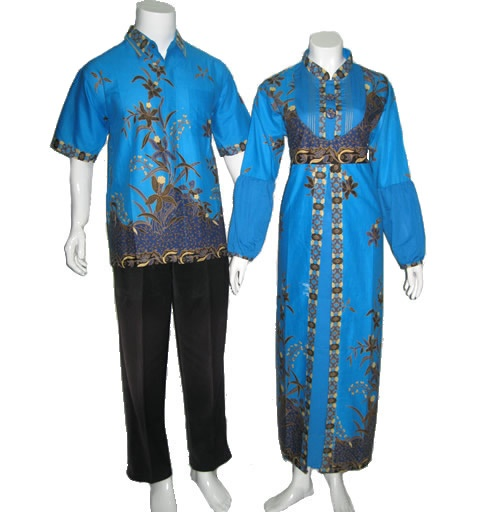 sarimbit batik gamis modern terbaru   Modern Batik Sekar ...