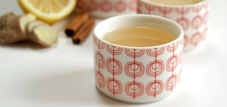The best homemade ginger tea ever.