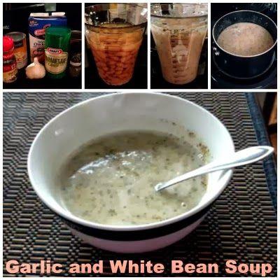 Lean and Luscious Corner: Garlic and White Bean Soup