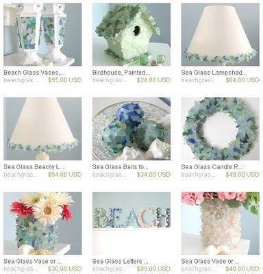 Handmade Beach Decor Accessories By Beach Grass Cottage