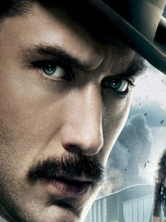 Dr. Watson - Jude Law. Good moustache.   Facial Hair Styles   Pintere ... Jude Law