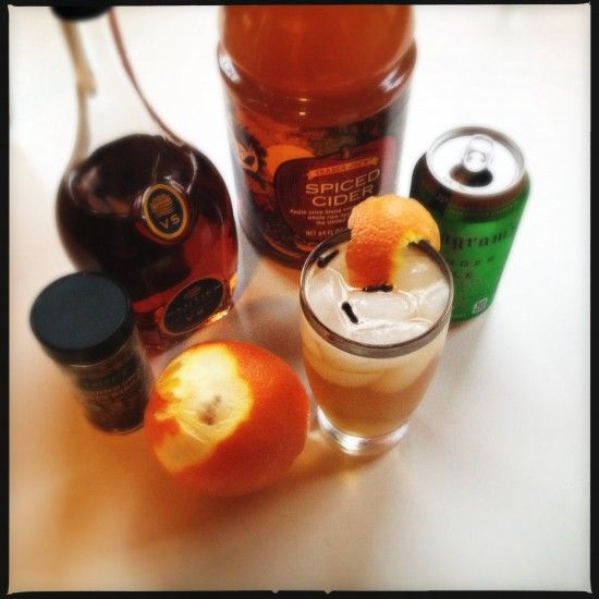 Brandy Apple Cider Punch Ingredients | Food&Drink-7 | Pinterest