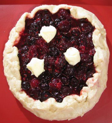 Mixed Berry Galette | Pie - Tarts & Galettes | Pinterest