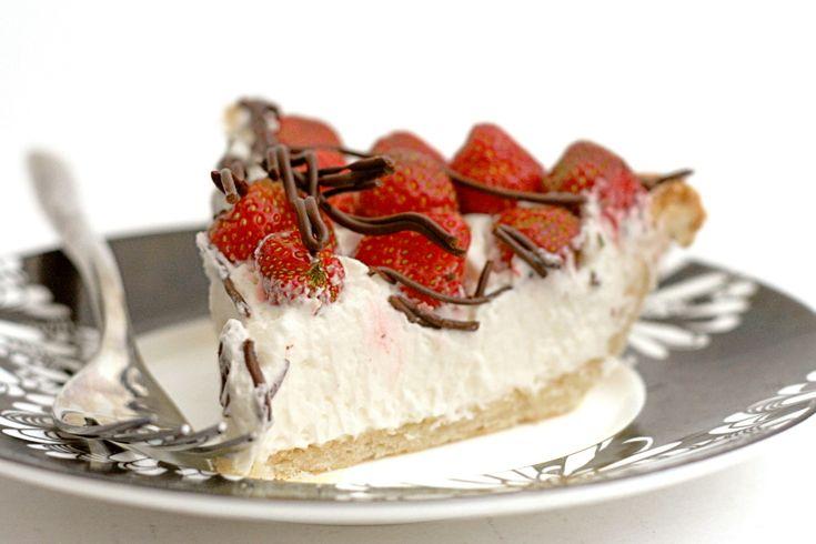Strawberries and Cream Pie | Pies - Oh My! | Pinterest