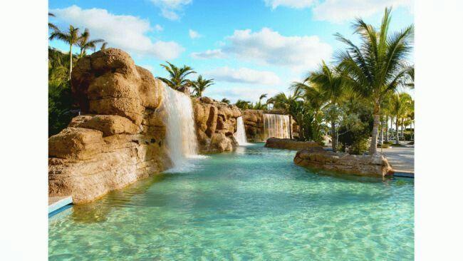 The grotto pool atlantis bahamas october vacation at for Atlantis pools