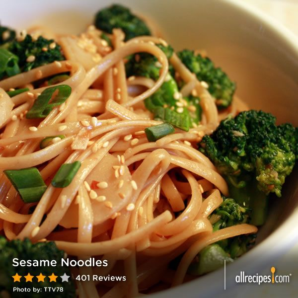 """Sesame Noodles 