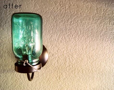Diy Mason Jar Wall Sconces : mason jar diy sconce MAKE, DO, or RECYCLE! Pinterest