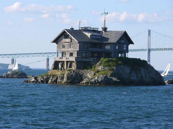 Clingstone House Narragansett Bay Rhode Island Photograph