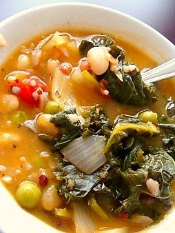 White Bean, Kale and Roasted Vegetable Soup: User Recommendation: Top ...
