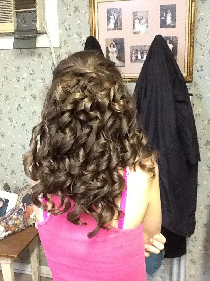 Mardi Gras Ball hair by DeEtte   hairstyles I like   Pinterest