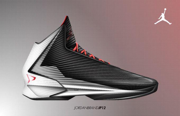 The new Jordan Brand JP12 concept shoe. Featuring PerformanceWoven to ... Jabari Parker Jordans