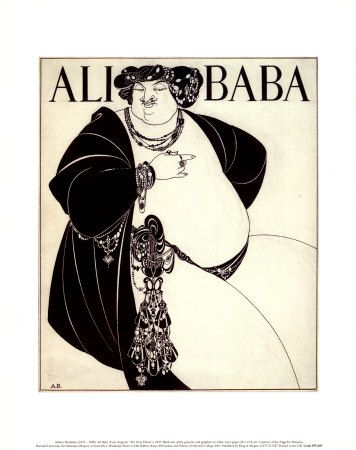 Ali Baba by A Beardsley