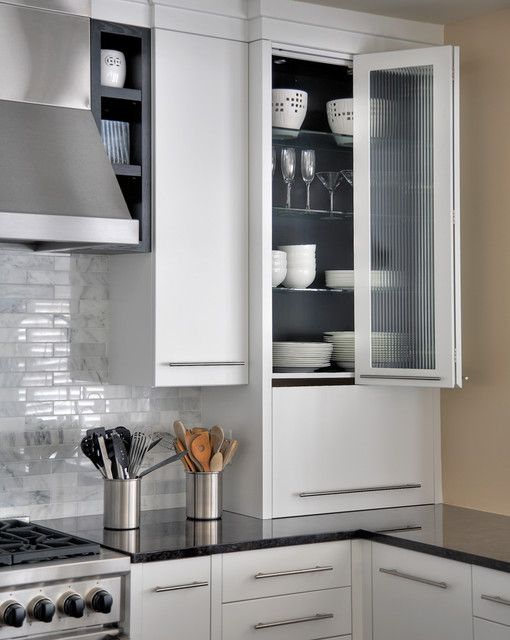 Kitchen cabinet folding door kitchens pinterest - Accordion kitchen cabinet doors ...
