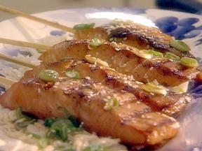 Teriyaki salmon skewers | Food | Pinterest