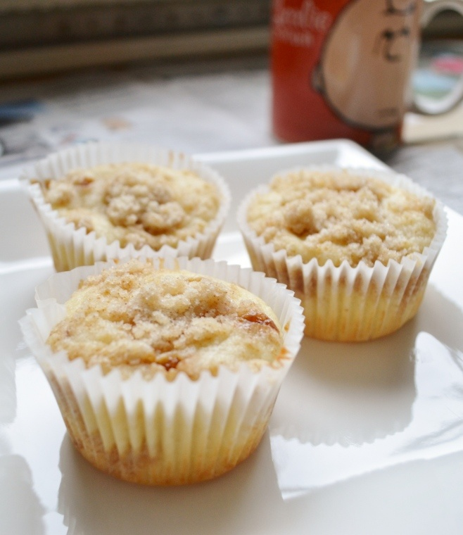 Coffee Cake Muffins | Muffin Recipes | Pinterest