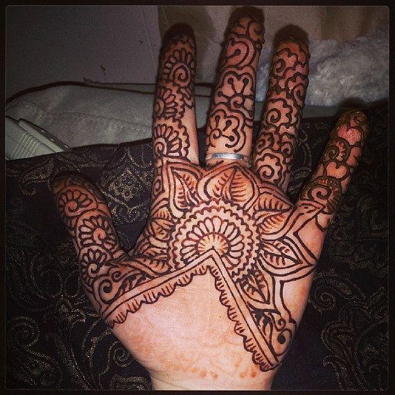 Mehndi Henna Kit Jacquard : Henna mehndi kit makedes