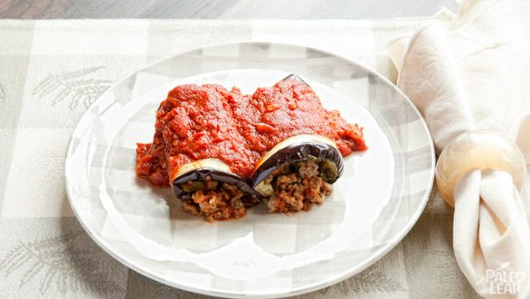 Eggplant Cannelloni slice thin and add 30-40 min cook time so the ...