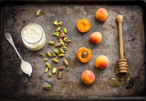 ... Bojon Gourmet: Apricot Crème Fraîche Tart with Honey and Pistachios