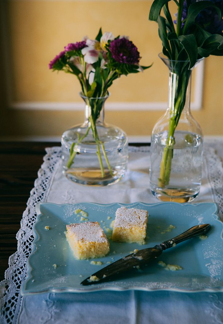 Meyer Lemon Pudding Cake | Yum!!! | Pinterest