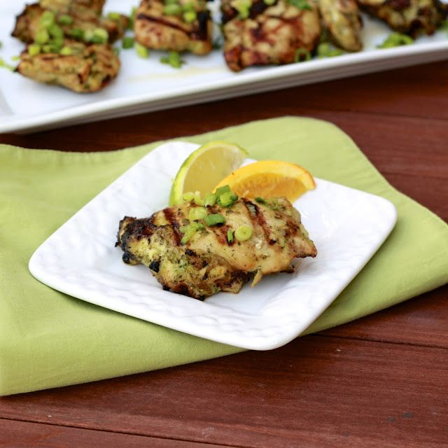 Citrus Marinated Chicken Thighs | Chicken Recipes | Pinterest