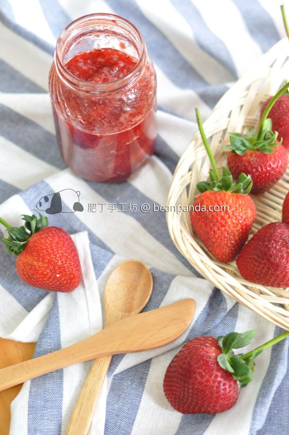 strawberry jam | Simply Strawberries | Pinterest